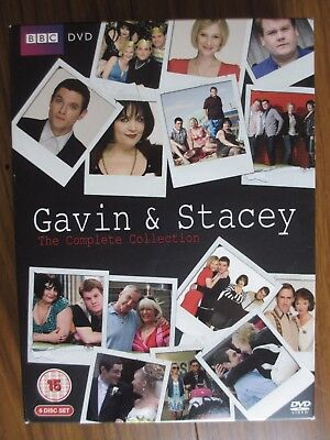 Gavin & Stacey The Complete Collection DVD Series 1 - 3 & Christmas Special R2