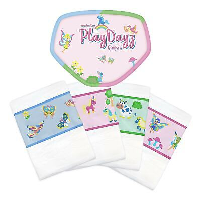 GetNappied PlayDayz Pink (Breathable / Cloth Backed)  - ABDL Adult Diaper
