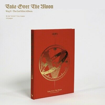 NCT WayV 威神V 2nd Mini Album Take Over The Moon USA Shipping