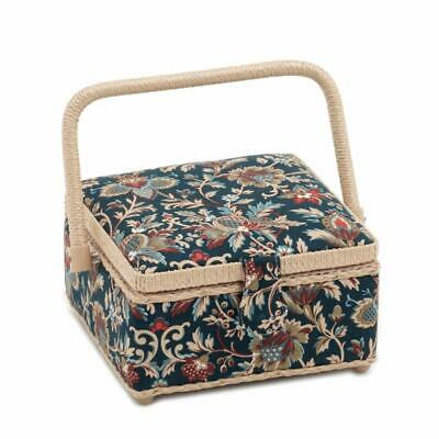 S&W Collection Square Sewing Box (M) - Canterbury