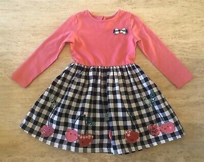Bluezoo ~ Girls 2 in 1 Pink Cherry Party Dress ~ Age 3-4 Years