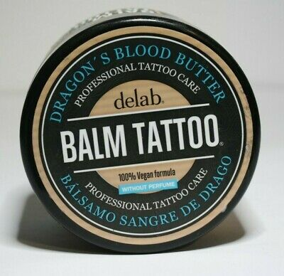 Delab Balm Tattoo Dragons Blood Butter Aftercare 100% VEGAN 250ml PR354 07