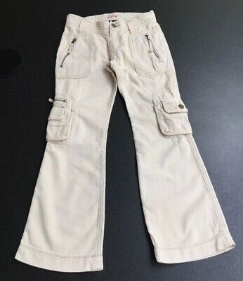 Gap Girls Cord Cargo Style Bootcut Trousers.  Age 7 Years
