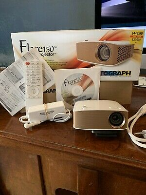Artograph Flare150 Art Projector - White Used Twice Complete Unit As Sold