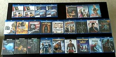 Blu-ray & 4K lot: Shipping only $3.50 no matter the order size! Like New!!