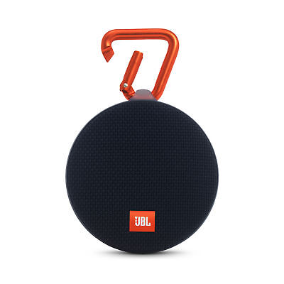 JBL Clip 2 Portable Wireless Bluetooth Speaker - Black