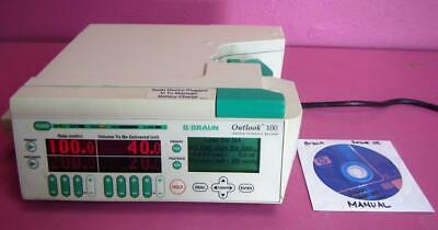 B/Braun Outlook 100 Safety Infusion System IV Pump Fluid Administration
