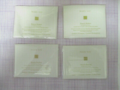 MARY KAY ~ 300  Beauty Blotters Oil-Absorbing Tissues  ~ LOT of 4 packages