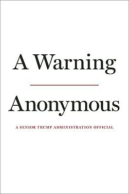 A Warning by Anonymous November United States Executive Trump Government NEW