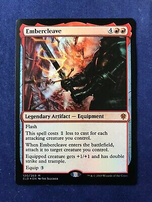 MTG Magic the Gathering Foil Embercleave Throne of Eldraine x1