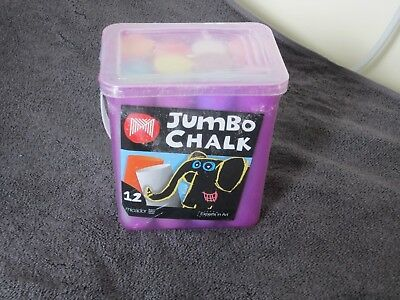 Jumbo Chalk Set - 12 Pieces X 2 Tubs