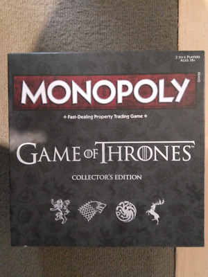 *NEW* GAME OF THRONES Monopoly