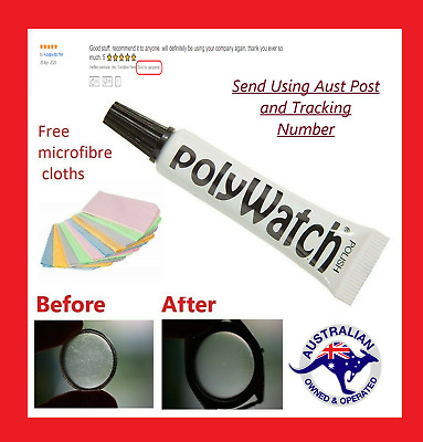5g POLYWATCH Remover Polish scratches of Watch Plastic / Acrylic Crystal Glass