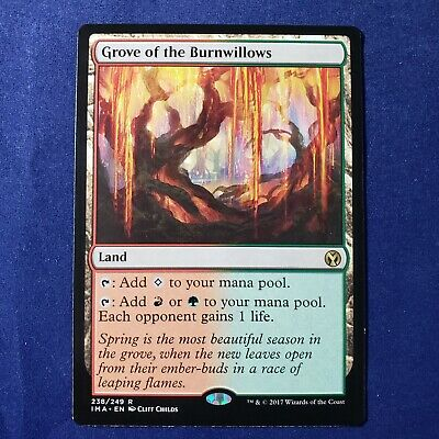 MTG Magic the Gathering Grove of the Burnwillows Iconic Masters x1