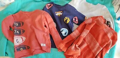 Boys Jumpers size 5 lot of 4 VGUC Country Road Pumpkin Patch Cotton On