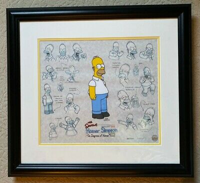 Six Degrees of Homer - The Simpsons Talking Lumicel Limited Edition 328/1k MINT