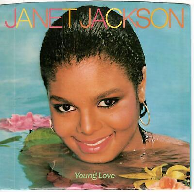 Janet Jackson, Lot Of 2 - 7 Inch Singles In Picture Sleeves For $9.99