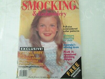 Australian Smocking Issue  24 Autumn 1993