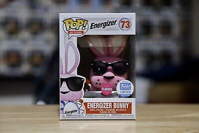 Funko Pop AD Icons Energizer Bunny Flocked Shop Exclusive #73