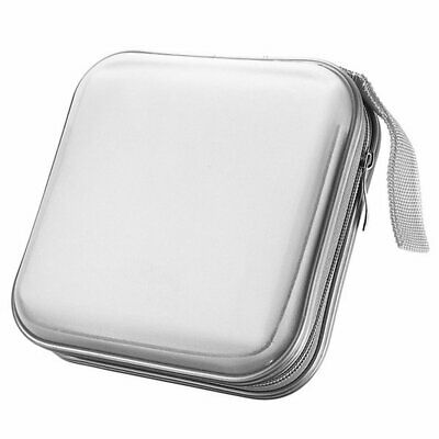 40 Disc Double-side CD Storage Sleeve Case Organizer Holder Hard Box Wallet EU