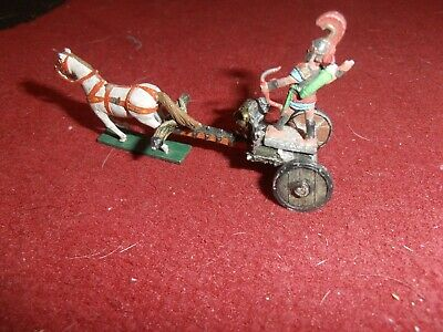 Small Metal Chariot Rider Gladiator Horse Archer Lot For Games Workshop Figures