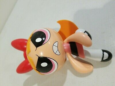 Used Blossom Cartoon Network Talking figure 7.5 inches needs battery good cond.