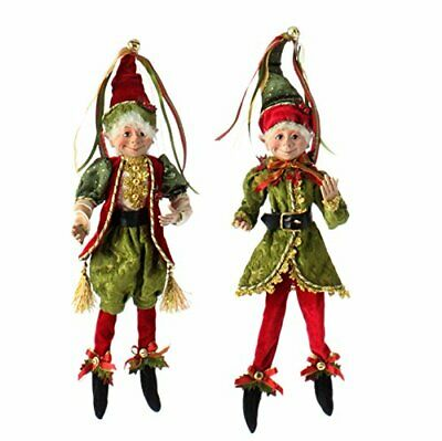 """RAZ Imports - Botanical Garden Theme - 16"""" Red, Gold and Both Colors (Set of 2)"""