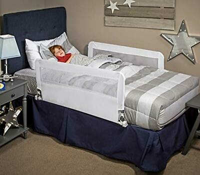 Regalo HideAway Double Sided Bed Rail Guard, with Reinforced Anchor Safety