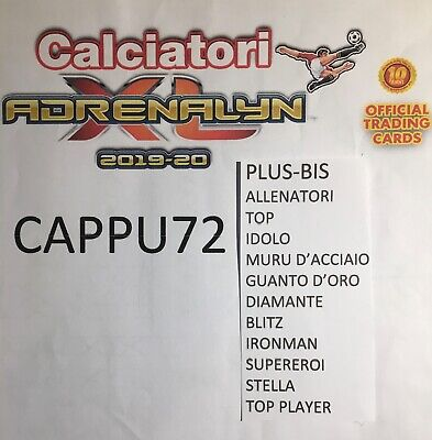 Top Plus Allenatori Special Cards Adrenalyn Xl 2019-20 Calciatori Panini