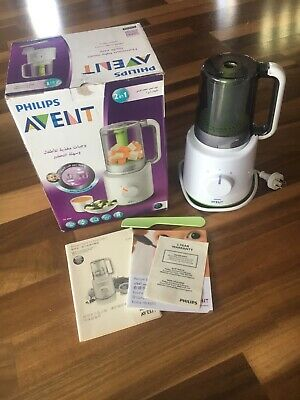 Philips Avent 2 in 1 Baby  Combined Steamer and Blender BPA - White