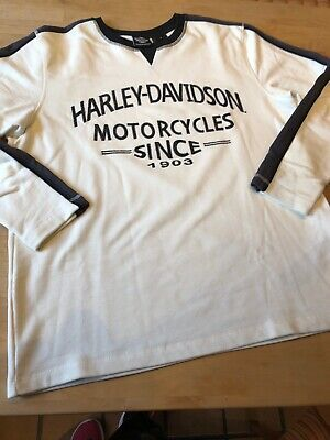Harley-Davidson  Sweater Pullover Rohweiss M  TOP