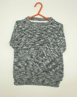 Girls Clothes 6 Years Outfit Next Grey Mix Knitted Cardigan Pullover Jumper