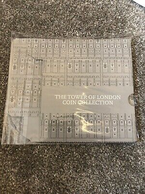 2019 Tower Of London £5 Coin Series Holder Legend Raven & Crown Jewels. No Coins