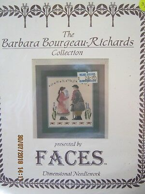 The Greeting By Faces Crossstitch Charts For Dimensional Needlework