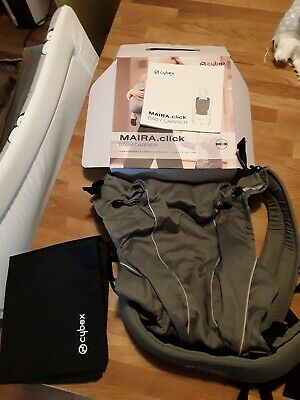 Cybex Maira Click Baby Carrier (Manhattan Grey), RRP £120 - excellent condition