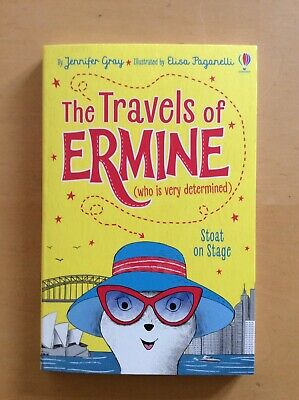 Usborne The Travels Of Stoat On Stage By Jennifer Gray. Brand New.