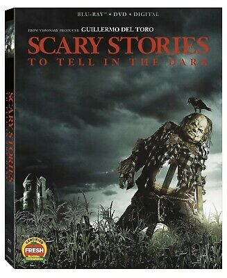 Scary Stories To Tell In The Dark(Blu-Ray+Dvd+Digital)W/Slipcover New