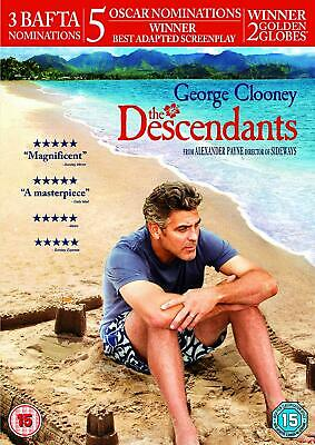 The Descendants - DVD - BRAND NEW SEALED George Clooney