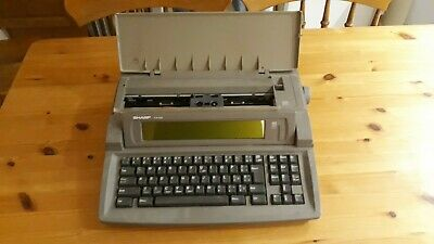 Sharp Font Writer Personal Word Processor(Typewriter) FW-560 Built in disc drive
