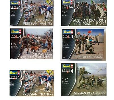 Revell Model Military Figures 1:72 Scale Choice of Model Kits