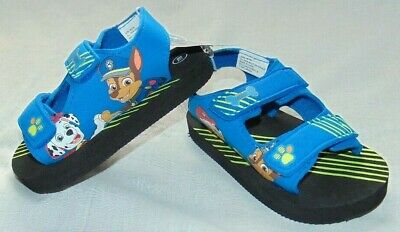 Boys Paw Patrol PREVO Summer Character Sandal Navy//Lime size 5,6,7,8,9,10