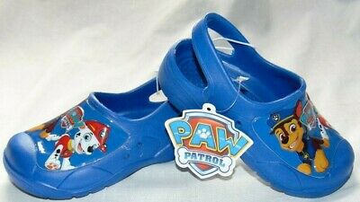 NWT Toddler Boys Girls PAW PATROL Marshall Chase Clogs Sandals Shoes Sz 9/10