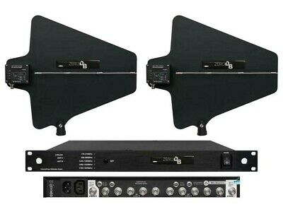 Active Antenna Splitter & Power Distribution System for Shure Wireless System
