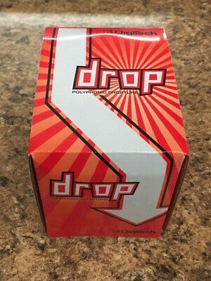 New Digitech The Drop Polyphonic Drop Tune Pedal