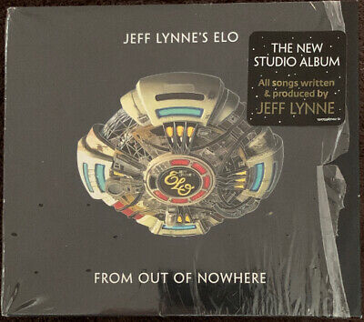 Jeff Lynne - ELO - From Out Of Nowhere CD - Electric Light Orchestra