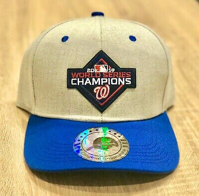 2019 WASHINGTON NATIONALS WORLD SERIES CHAMPIONS National League Patch Cap Hat