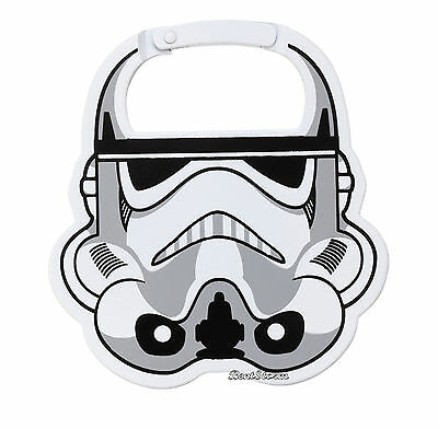 Disney Star Wars STORMTROOPER Carabiner Purse Backpack Luggage keychain clip NEW