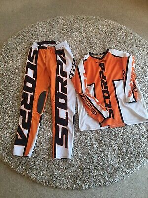 Hebo SRT Scorpa Italia Trials Kit Shirt (L) & Pants (XL) Excellent Condition