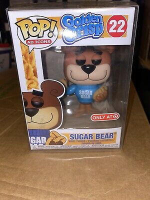Funko Pop! Sugar Bear 22 Ad Icons Golden Crisp Target Exclusive Brand New!