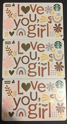 "Lot 3 Starbucks ""SANTA CLAWS"" Christmas 2019 Recycled Paper Gift Card set"